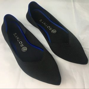 Rothy's | The Point Black Flat | Size 9